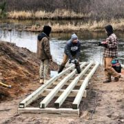 CCC Boat Ramp Construction