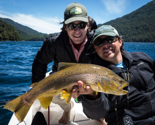 Dry Fly Fishing in Patagonia