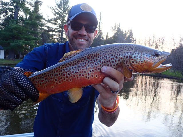 Manistee River Trout fishing